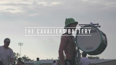 【DCI】パレードの模様とリハーサル風景! 2021年キャバリアーズ『セクション・スポットライト:バッテリー』動画です!