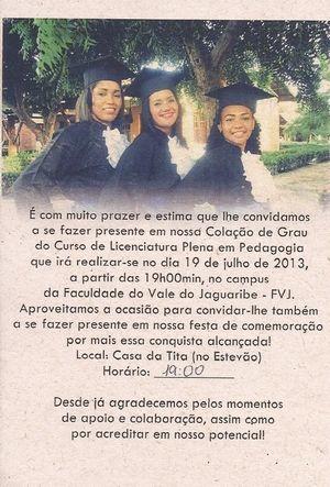 Formatura_Flaviane, Patricia