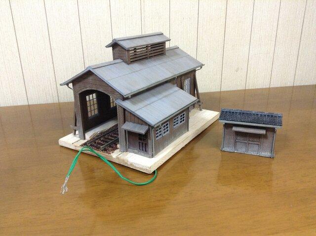 ヒルマモデルクラフトの小さな機関庫 : タンクヒロの鉄道模型