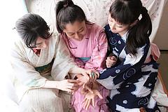 090802 三姉妹ゆかた会