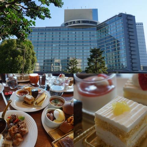 ホテルニューオータニで人気のスーパースイーツシリーズが食べれるガーデンラウンジのビュッフェ