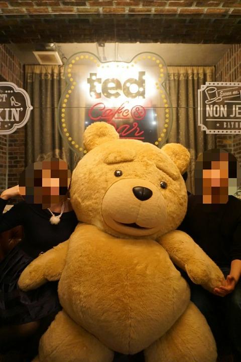 【渋谷】Ted Cafe & Bar TOKYO 2016【話題の2ヶ月期間限定テッドカフェに行ってきました!】