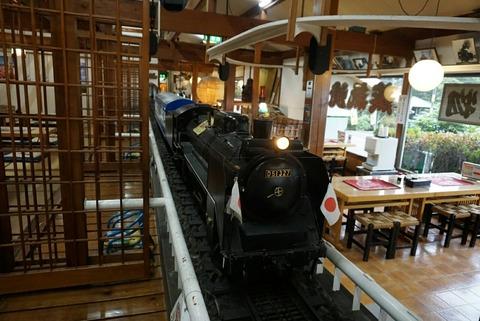 【那須塩原市】蒸氣汽関車【SLランドミュージアムにある機関車が走る鉄板焼のお店】