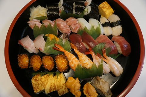 【十条】かわなみ鮨【ホームパーティーにぴったり!お寿司のテイクアウトがオススメ♪】