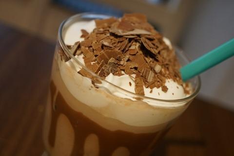 【十条】ボンヌ カフェ 十条店【5】【可愛すぎる!秋冬限定のチョコレートドリンクがおすすめ】
