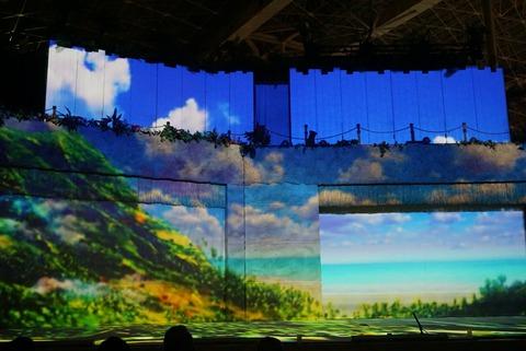 【いわき市】光のきづなメッセージショーナイトレインボー【スパリゾートハワイアンズでプロジェクションマッピングと共にサプライズメッセージ!】