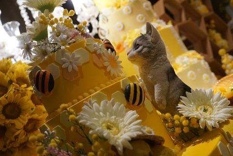【西新宿】マーブルラウンジ【6】【インスタ映え抜群!ヒルトン東京で期間限定Happyハニー・ホリックデザートビュッフェが開催!】