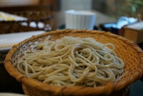【中村橋】玄蕎麦 野中【人気蕎麦屋はデザートまで美味しい!松茸が3切れも入った天せいろ秋色を食べて季節を感じる】