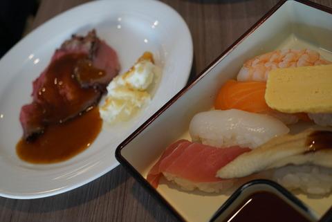 【新横浜】ブッフェダイニング ケッヘル【高コスパのランチブッフェは寿司職人の握りたてお寿司が食べれてオススメ♪】