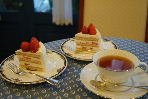 【ときわ台】フレンチ パウンド ハウス 常盤台店【日本一美味しいと噂!?2つのショートケーキを1度に味わう贅沢】