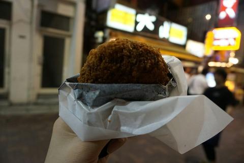 【上野】肉の大山【大山特製メンチカツは肉汁たっぷり♪テイクアウトも出来て気軽に食べれます♪】