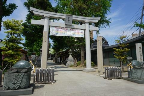 【亀有】亀有香取神社【モヤモヤさまぁ~ずに登場!こち亀とキャプテン翼の聖地】