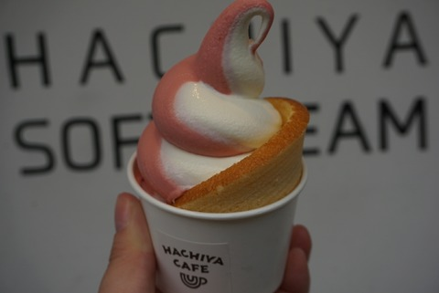 【鬼怒川温泉】はちやカフェ【バウムクーヘン工房はちやのバウムクーヘンがその場で食べれる人気店!】