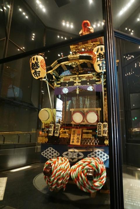 【川越】まつり会館【超ビックな山車を間近で見られる!川越祭りの歴史を感じます】
