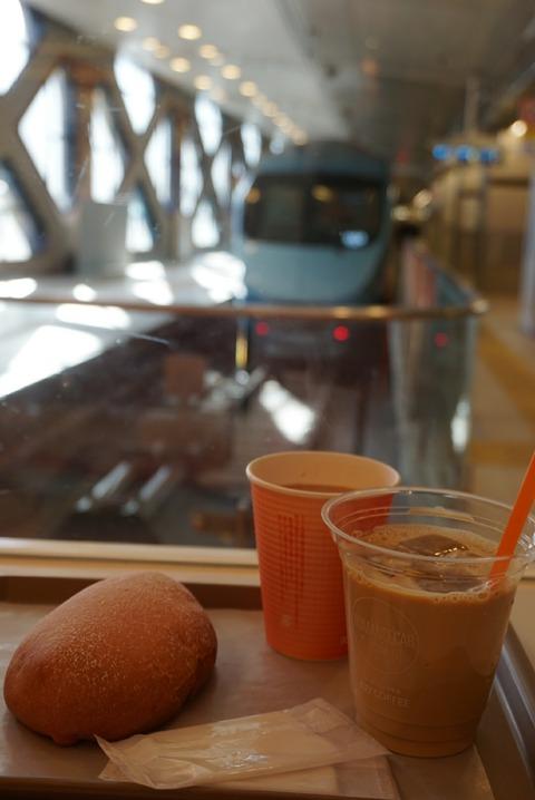【新宿】ロマンスカーカフェ【箱根ロマンスカーのホームにある待ち時間オススメのカフェ♪】