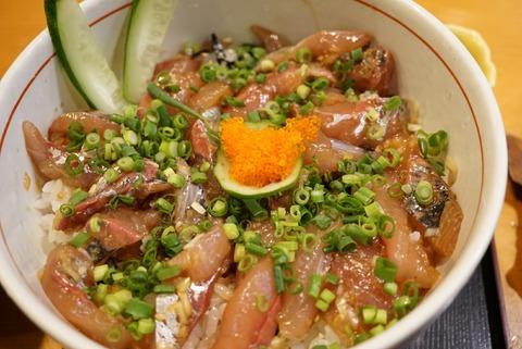 【宮ノ下】鮨 みやふじ【オススメ♪元祖アジ丼の店は流石の美味しさ!】