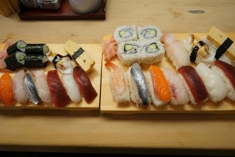 【東大宮】玄海寿司【まるで握り飯!?寿司の大盛りはびっくりするくらいの大きさ!】