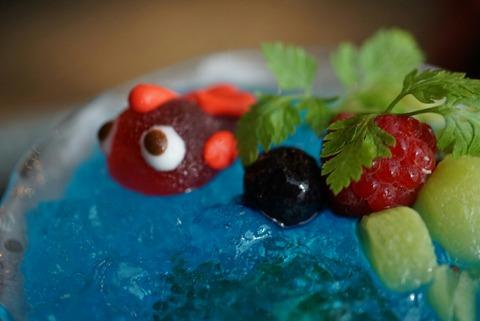 【三越前】金魚カフェ【毎年開催されるアートアクアリウムに併設されているカフェ】
