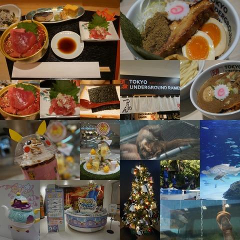 池袋サンシャイン水族館パスポート更新!つけ麺と海鮮丼ランチ&焼肉きんぐ