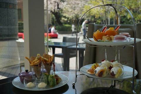 【北品川】ラウンジアンドダイニング ジー【2-2】【ビタミンたっぷり!マリオットホテル東京で美肌になれそうなフルーツアフタヌーンティー♪】