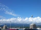 雲が無い日に来てみたい