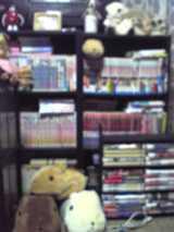 本棚の一部・・・
