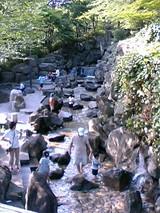 飛鳥山公園-滝&川