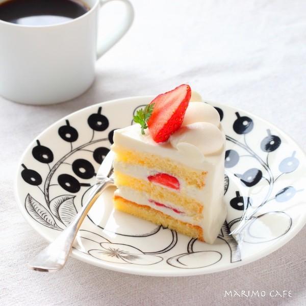 いちごのショートケーキ_Fotor