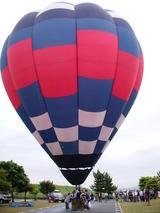 熱気球は大きいな