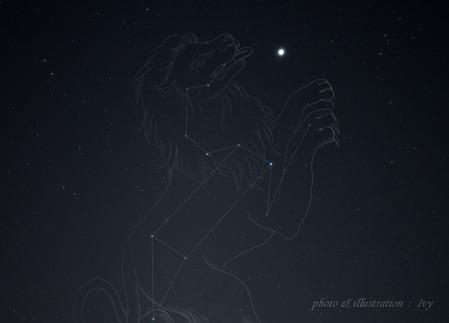 木星と獅子座2