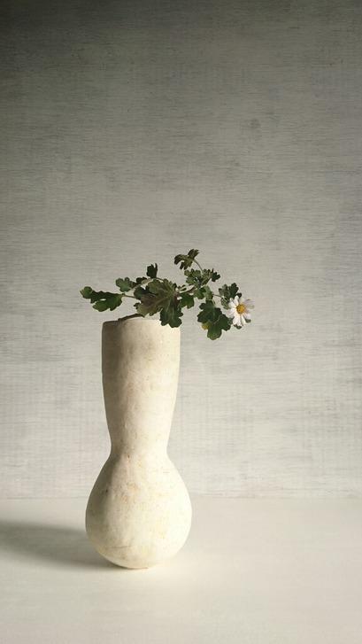 厚川文子さん 冬至にいけた花