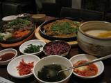 夕食in仁寺洞(インサドン)