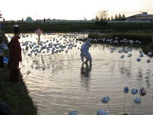 泥花 by 空土 in 水と土の芸術祭
