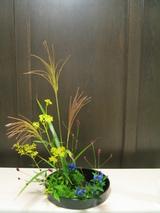 写景盛花様式本位−秋の多種挿し2