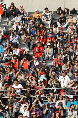 F1ファン、鈴鹿サーキット