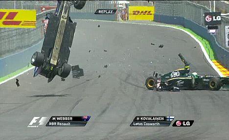 2010年F1 恥ずかしい10の場面 4 ...