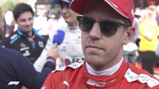 セバスチャン・ベッテル(フェラーリ)2019年F1イタリアGP