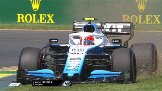 ロバート・クビサ(ウィリアムズ)2019年F1オーストラリアGP