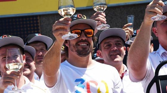 フェルナンド・アロンソ、F1参戦300回目を祝う:2018年F1カナダGP