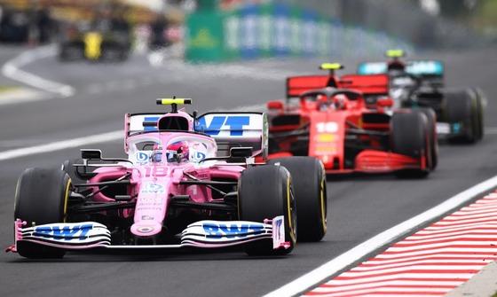 レーシング・ポイント、フェラーリ、メルセデス:2020年F1