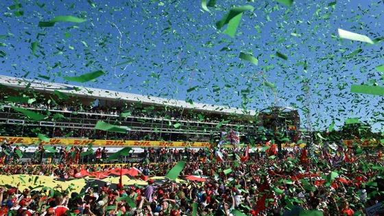 2015年F1イタリアGP 表彰式