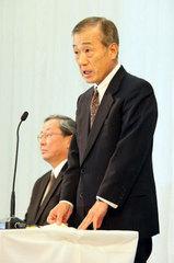 福井威夫 本田技研工業株式会社代表取締役社長、2008年12月5日記者会見