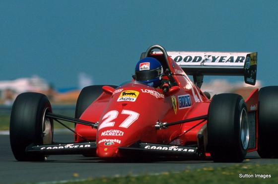 パトリック・タンベイ(フェラーリ)、1983年F1イギリスGP