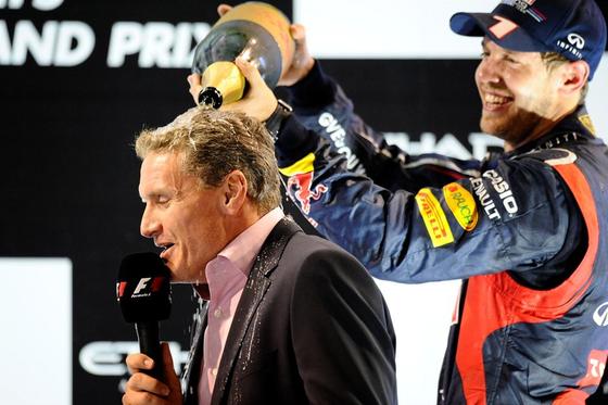 デイヴィッド・クルサード、セバスチャン・ベッテル、2012年F1アブダビGP