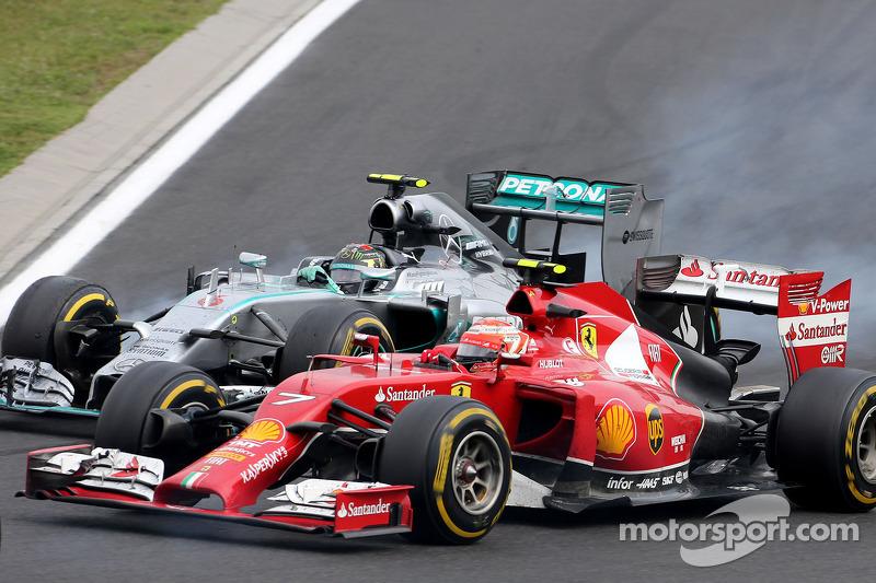 キミ・ライコネン: F1ハンガリ...