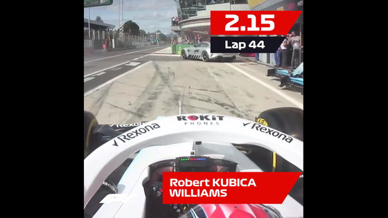 ウィリアムズ、最速ピットストップ:2019年F1イタリアGP