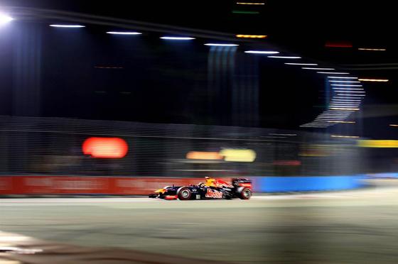 セバスチャン・ベッテル(レッドブル)、2013年F1シンガポールGP