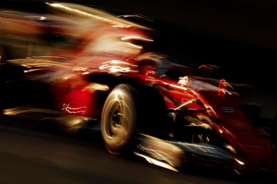 セバスチャン・ベッテル(フェラーリ)バルセロナF1テスト2017年3月