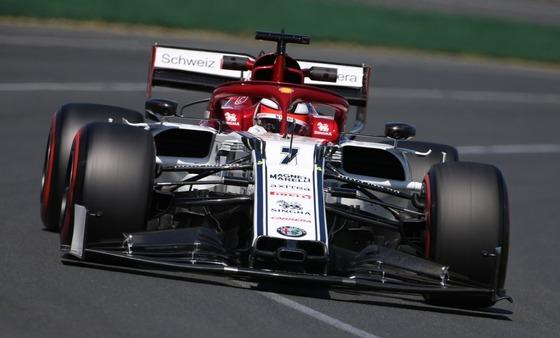キミ・ライコネン(アルファロメオ)2019年F1オーストラリアGP