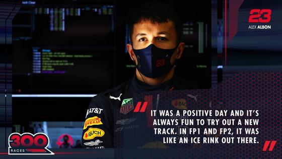 アレックス・アルボン(レッドブル・ホンダ)2020年F1トルコGP